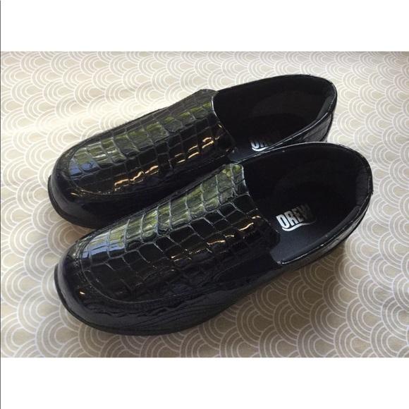 """ffc660a0d4d2 DREW Shoes - Drew """"violet"""" black croc orthotic shoes 8WW EUC 💋"""
